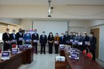 Tabletler Öğrencilere Dağıtılmak Üzere Okul Müdürlerine Teslim Edildi
