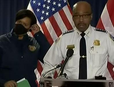 Washington polis teşkilatı: 'Olaylarda bir sivil yaralandı!'