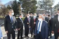 Başkan Büyükkılıç, Sarıoğlan Ve Akkışla'da Muhtarlarla Buluştu