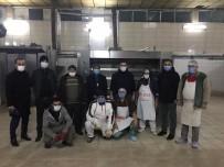 Belediye Başkan Yardımcısı Aydemir Halk Ekmek Fabrikası'nı İnceledi