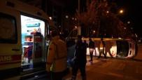 Çanakkale'de Ticari Taksi İle Ambulans Çarpıştı Açıklaması 5 Yaralı