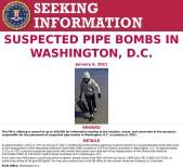 FBI, Kongre Binası Yakınındaki Bombalarla İlgili Şüpheliler İçin 50 Bin Dolar Ödül Koydu