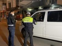 Düzce'de Kısıtlamayı Delen Alkollü Sürücü Gece Kartallarına Yakalandı