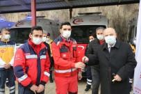 Kahramanmaraş'ta Yeni Ambulanslar İlk Sirenlerini Çaldı