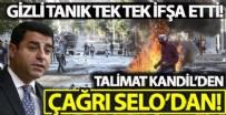 AHMET TÜRK - Kobani iddianamesinde gizli tanık Selahattin Demirtaş'ın terör çağrısını ifşa etti!