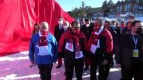 'Sarıkamış Şehitleri' Anısına Yapılan Kardan Heykeller Açıldı