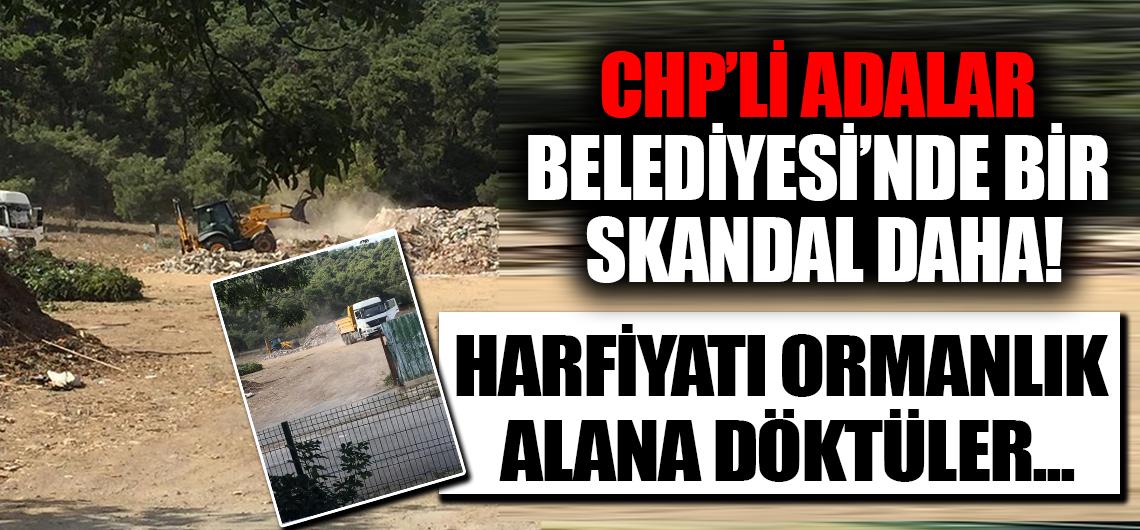 Adalar Belediyesi'nde bir skandal daha!
