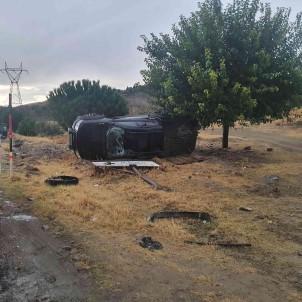 Manisa'da Trafik Kazasi Açiklamasi 1 Yarali