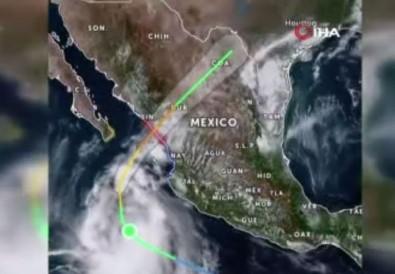 Meksika'da Pamela Kasirgasi Alarmi Açiklamasi Bir Eyalette Okullar Tatil Edildi