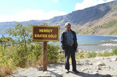 Nemrut'un 48 yıllık gönüllü bekçisi: Her gün 20 kilometre gidiyor