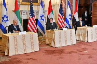 ABD Disisleri Bakani Blinken'dan Filistin-Israil Meselesinde 'Iki Devletli Çözüm' Vurgusu