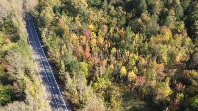 Bartin'da Sonbahar Manzaralari Havadan Görüntülendi