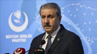 BBP Genel Başkanı Destici'den Kılıçdaroğlu'na: 'Siyasi cinayet' iddiaları akıl almaz temelsiz ve mesnetsiz