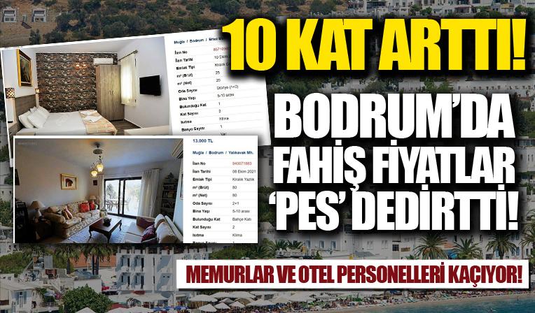 Bodrum'da fahiş ev fiyatları 'Pes' dedirtiyor: Memurlar ve personeller kaçıyor