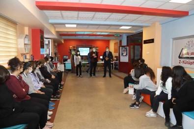 Çankiri'da Okullarda Ögrenciler Için Asi Seferberligi