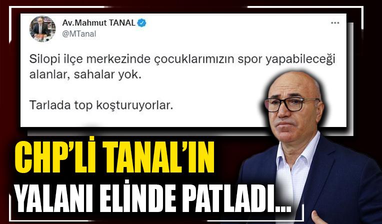 CHP'li Mahmut Tanal'ın 'Silopi'de çocukların spor yapabileceği spor alanları yok' iddiası görüntülerle yalanlandı!