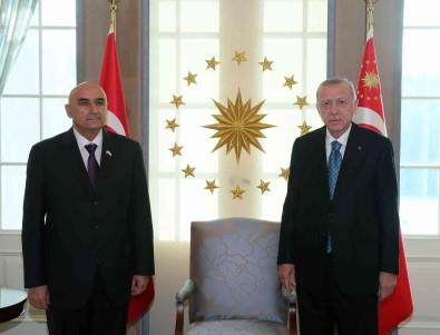 Cumhurbaskani Erdogan, Tacikistan Meclis Baskani Zokirzoda'yi Kabul Etti