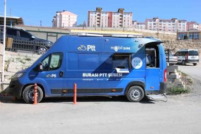 Edremit'te PTT Mobil Araci Hizmet Vermeye Basladi