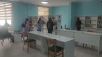 Kadisehri Ilçesine Halk Kütüphanesi Açildi