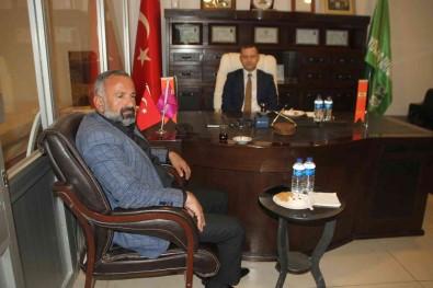 Kaymakam Demirer'den Sanayi Odasi Baskani Yoldas'a Ziyaret