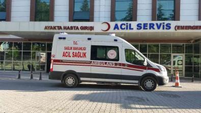 Konya'da Otomobilin Çarptigi Ögrenci Yaralandi