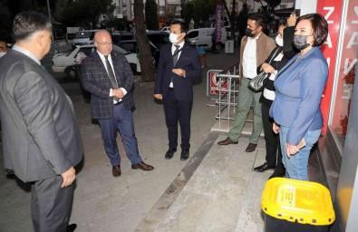 Mentese Belediyesinden Eczanelere Atik Ilaç Kutusu