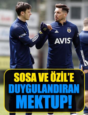 Mesut Özil ve Sosa'dan gençlere destek! O mektup sonrası duygulandılar...