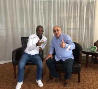 Nick Mwendwa Açiklamasi 'Engin Firat'i, Bize Vizyon Katmasi Ve Elemelerde Yardimci Olmasi Için Çok Istedik'