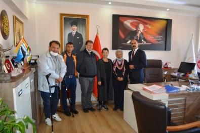 Sefkatli Eller'den Bassavci Necati Kayaközü'ne Nazik Ziyaret