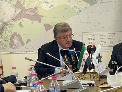 Suriye Muhalefetinin Baskani Muslat, ABD Temaslarini Degerlendirdi