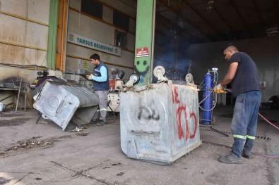 Tarsus'ta Çöp Konteynerleri Yenileniyor