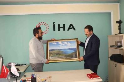 Tatvan Belediye Baskani Mehmet Emin Geylani'den IHA'ya Ziyaret