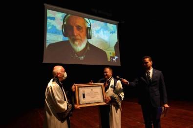 Usak Üniversitesi, Prof. Dr. Nevzat Kor'a 'Fahri Doktora' Unvani Verdi