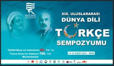YTB Destekleriyle 'Uluslararasi Dünya Dili Türkçe Sempozyumu'