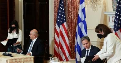 ABD Ile Yunanistan Iki Ülke Arasindaki Karsilikli Savunma Anlasmasi'ni Güncelledi