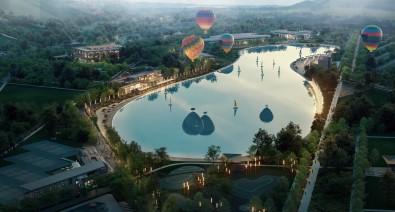 Avrupa'nin En Büyük Kristal Lagün Havuzunun Üçte Ikisi Doldu