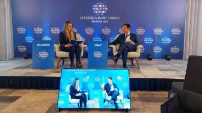Baskan Aras Brüksel'deki Forum'da Türkiye'yi Temsil Etti