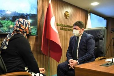 Baskan Tören, Vatandaslarin Sorunlarini Dinlemeyi Sürdürüyor