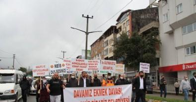 CHP'li belediyeye esnaftan davullu zurnalı protesto!