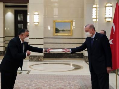 Cumhurbaskani Erdogan, Azerbaycan Büyükelçisini Kabul Etti