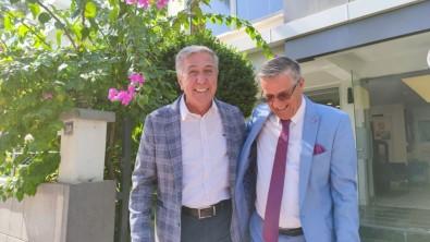 DTO Antalya Sube Baskani Çetin, Baskan Topaloglu'nu Agirladi.