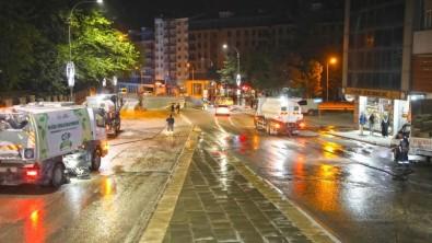 Elazig Belediyesi Kapsamli Temizlik Çalismalarina Devam Ediyor