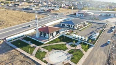 Elazig Belediyesi Mezarliklar Müdürlügü'nün Yeni Hizmet Binasi Açiliyor