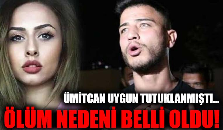 Esra Hankulu'nun ölüm nedeni belli oldu! Ümitcan Uygun tutuklanmıştı...