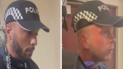 Ingiltere'de Sahte Polis Alarmi