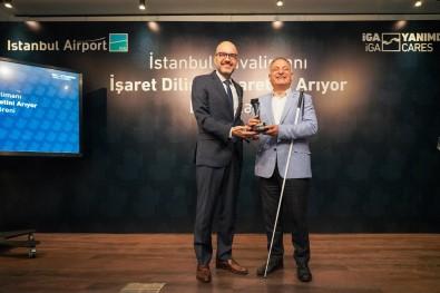 Istanbul Havalimani 'Isaret Dilini' Seçti