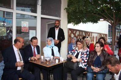IYI Parti Genel Baskan Yardimcisi Agiralioglu, Erzurum'da Esnafin Sorunlarini Dinledi