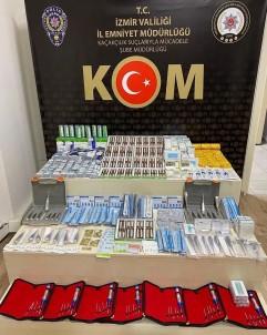 Izmir'de Binlerce Adet Kaçak Tibbi Malzeme Ele Geçirildi