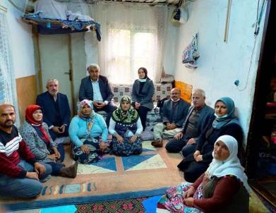 Kaymakam Özay, Engelli Vatandasi Evinde Ziyaret Etti