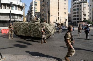 Lübnan'daki Silahli Çatismalarla Ilgili 9 Kisi Gözaltina Alindi